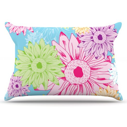 KESS InHouse Summer Time Pillowcase