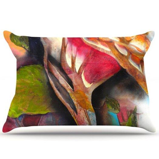 KESS InHouse Glimpse Pillowcase