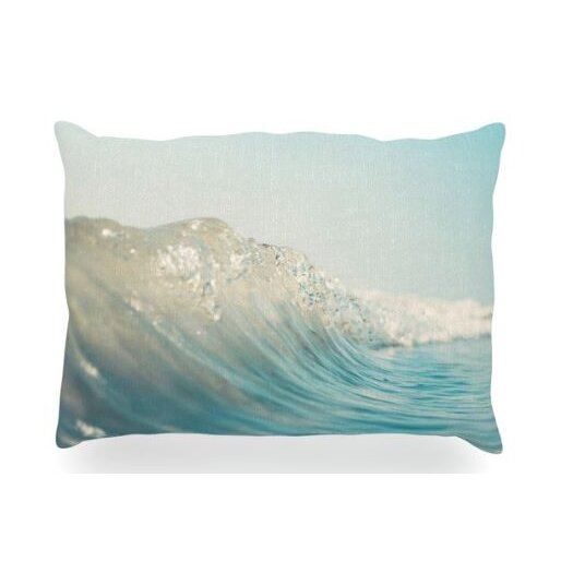 KESS InHouse The Wave Throw Pillow
