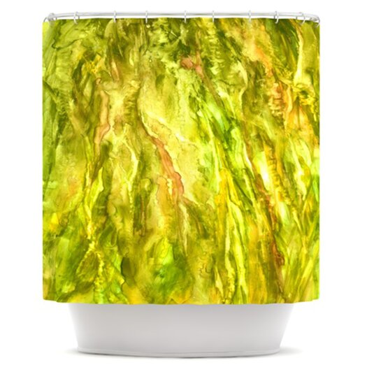 KESS InHouse Tropical Delight Polyester Shower Curtain