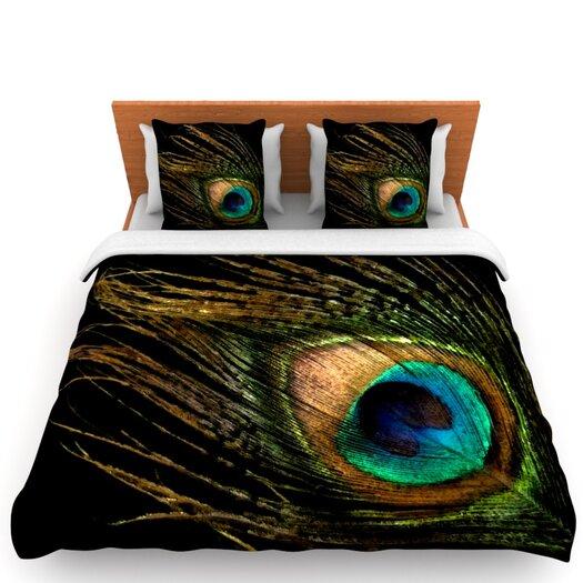 KESS InHouse Peacock Duvet
