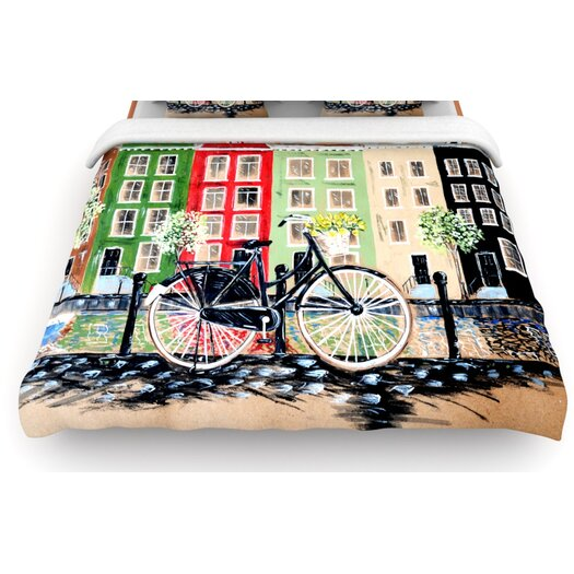 KESS InHouse Bicycle Duvet