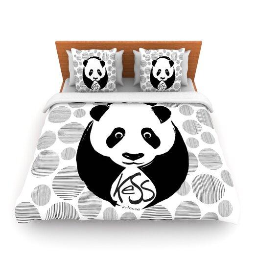 KESS InHouse Panda Duvet