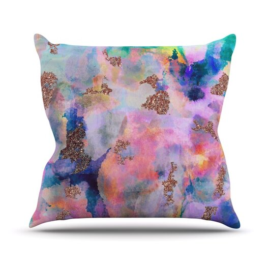 KESS InHouse Sparkle Mist Throw Pillow