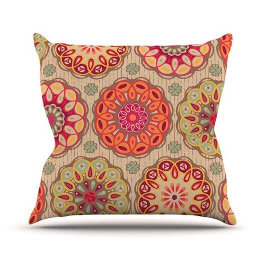 KESS InHouse Festival Folklore Throw Pillow