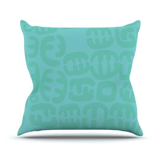 KESS InHouse Oliver Throw Pillow