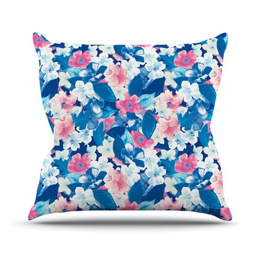KESS InHouse Bloom Throw Pillow