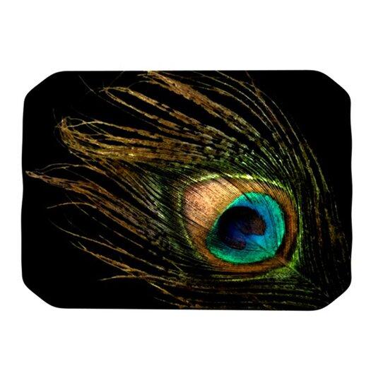 KESS InHouse Peacock Placemat