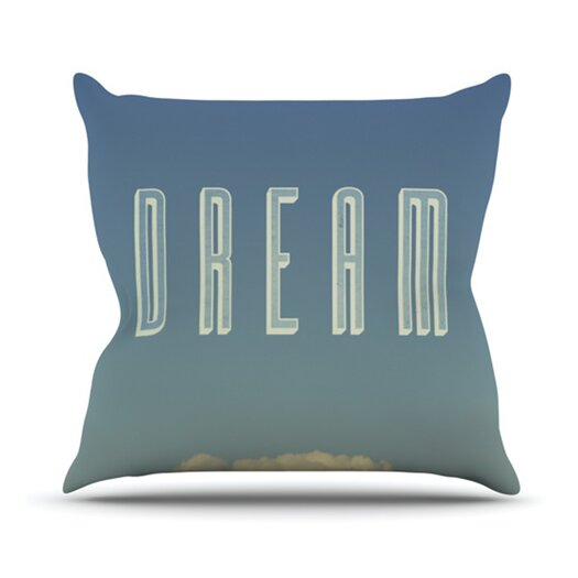 KESS InHouse Dream Print Throw Pillow