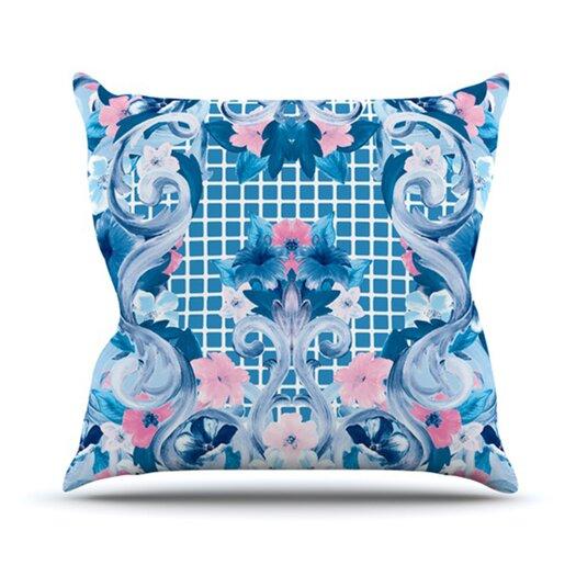 KESS InHouse Ornate Throw Pillow