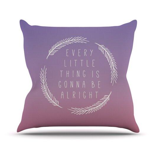 KESS InHouse Little Thing Throw Pillow