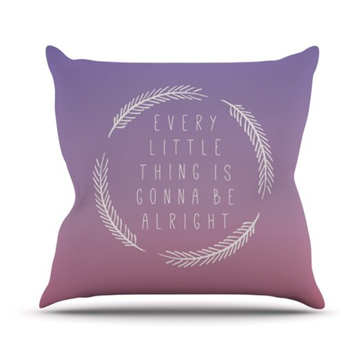 KESS InHouse Little Thing Throw Pillow