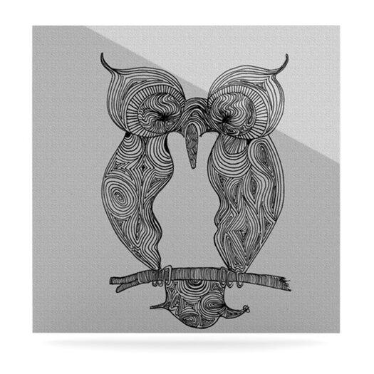 KESS InHouse Owl by Belinda Gillies Graphic Art Plaque