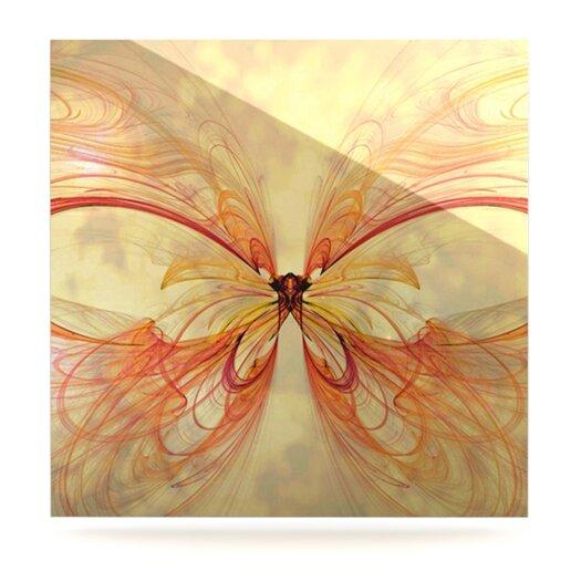 KESS InHouse Papillion by Alison Coxon Graphic Art Plaque