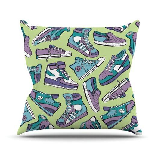 KESS InHouse Sneaker Lover IV Throw Pillow