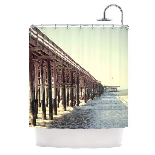 KESS InHouse Ventura Polyester Shower Curtain