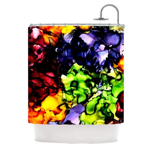KESS InHouse Teachers Pet Polyester Shower Curtain