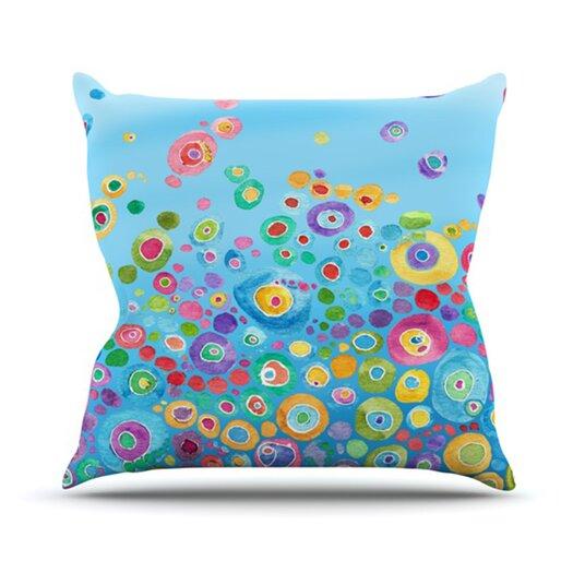 KESS InHouse Inner Circle Throw Pillow