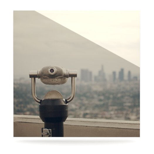 KESS InHouse The View LA by Catherine McDonald Photographic Print Plaque