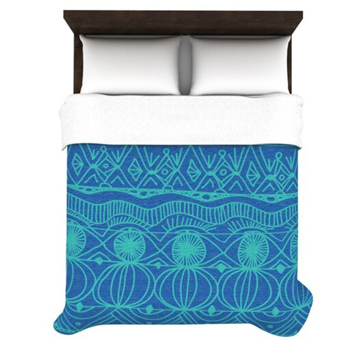 KESS InHouse Beach Blanket Confusion Duvet