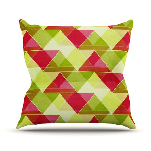 KESS InHouse Palm Beach Throw Pillow