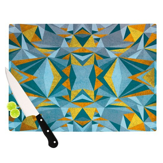 KESS InHouse Abstraction Cutting Board