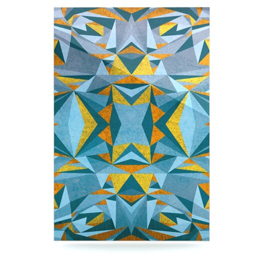 KESS InHouse Abstraction by Nika Martinez Graphic Art Plaque