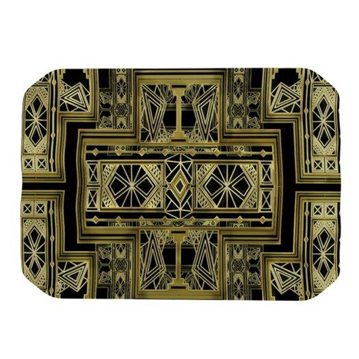 KESS InHouse Golden Art Deco Placemat