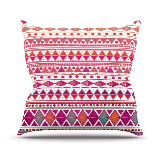 KESS InHouse Summer Breeze Throw Pillow