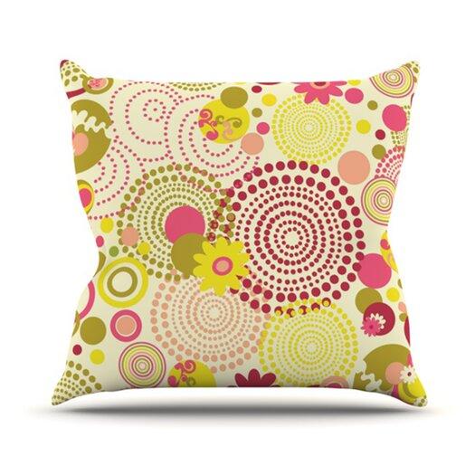 KESS InHouse Poa Throw Pillow