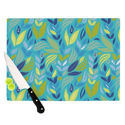 KESS InHouse Underwater Bouquet Cutting Board