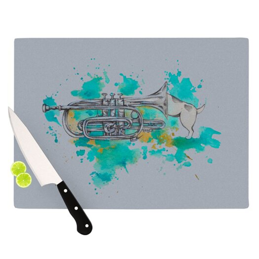 KESS InHouse Hunting for Jazz Cutting Board