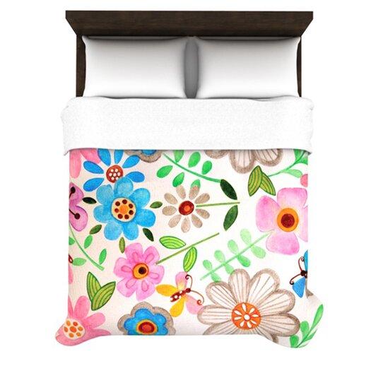 KESS InHouse The Garden Duvet Cover