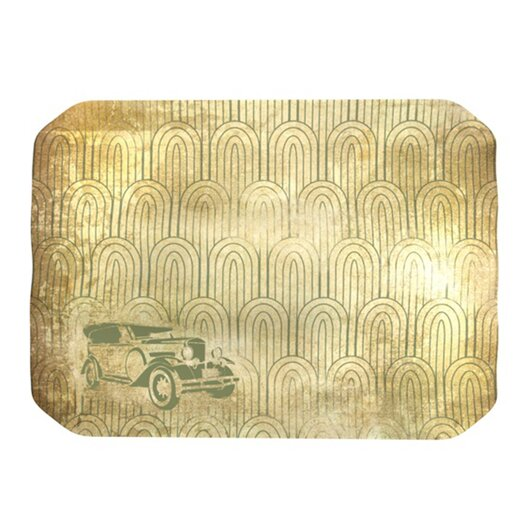 KESS InHouse Deco Car Placemat