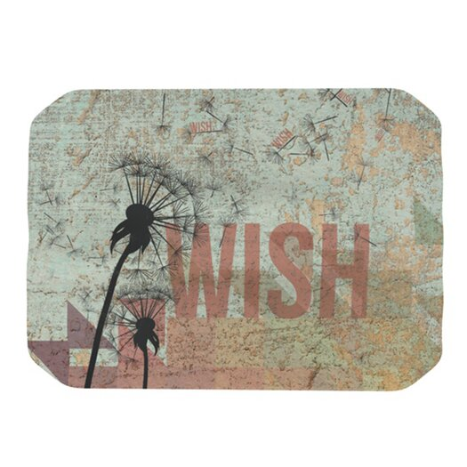 KESS InHouse Wish Placemat