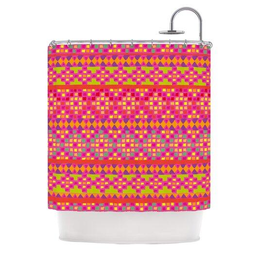 KESS InHouse Mexicalli Polyester Shower Curtain