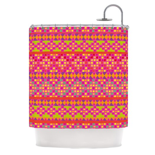 KESS InHouse Mexicalli Polyester Shower Curtain