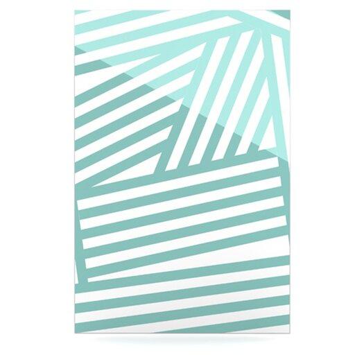 KESS InHouse Stripes by Louise Machado Graphic Art Plaque