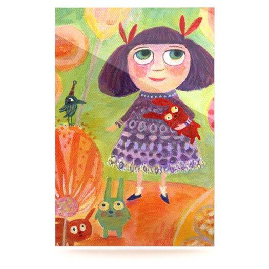 KESS InHouse Flowerland by Marianna Tankelevich Graphic Art Plaque