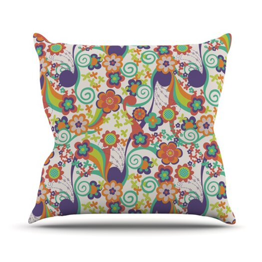 KESS InHouse Printemps Throw Pillow