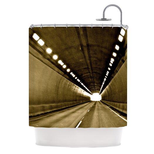 KESS InHouse Tunnel Polyester Shower Curtain