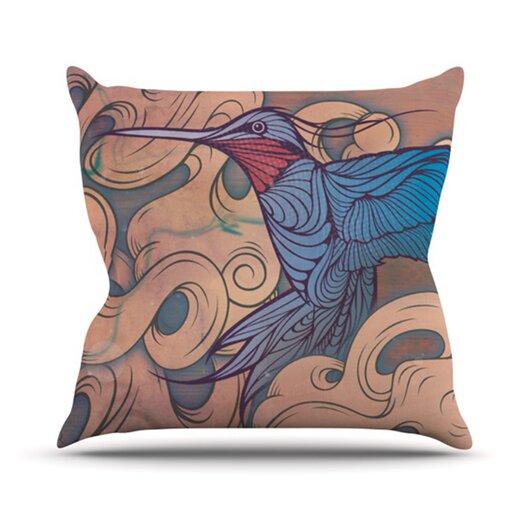 KESS InHouse Aerialism Throw Pillow