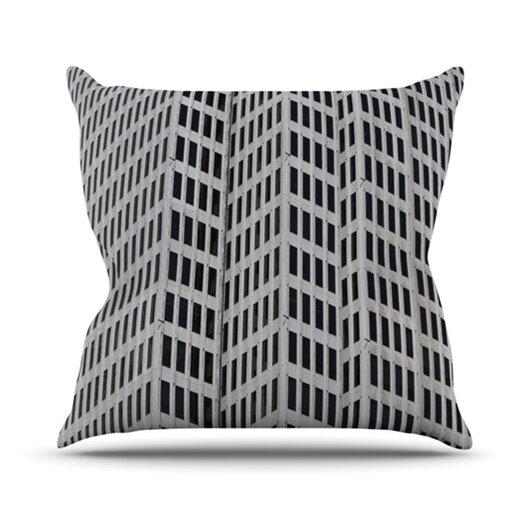 KESS InHouse The Grid Throw Pillow