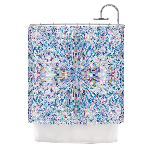 KESS InHouse Looking Polyester Shower Curtain