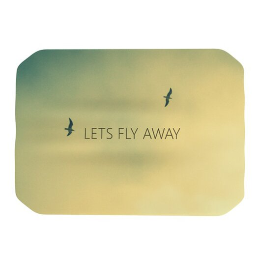 KESS InHouse Let's Fly Away Placemat