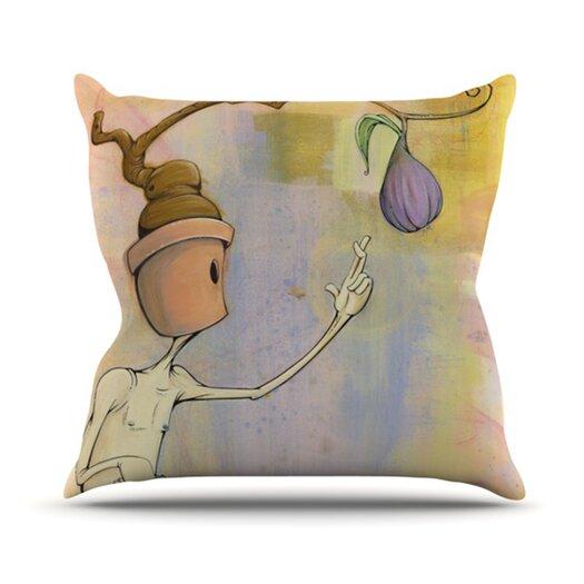KESS InHouse Fruit Throw Pillow