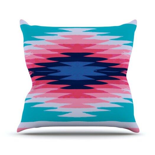 KESS InHouse Surf Lovin II Throw Pillow