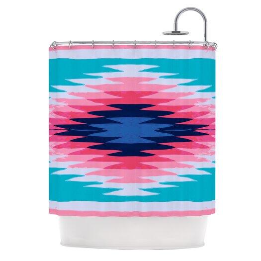 KESS InHouse Surf Lovin II Polyester Shower Curtain