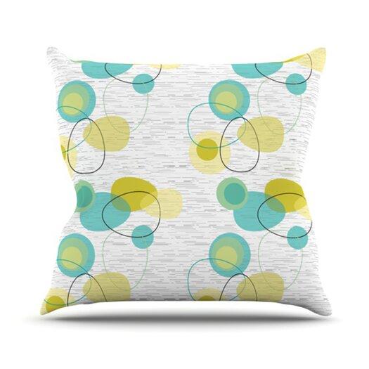 KESS InHouse Vaniretro Throw Pillow