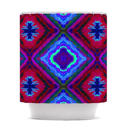 KESS InHouse Kilim Polyester Shower Curtain